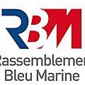 Charte du rassemblement bleu marine