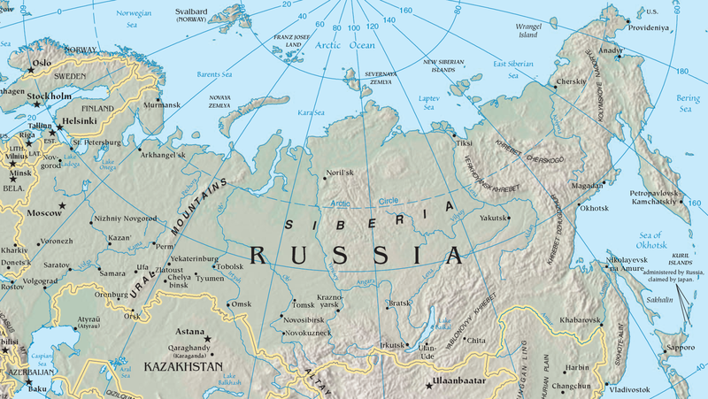 Siberia_topo144 (auteur:author United States Central Intelligence Agency's World Factbook)