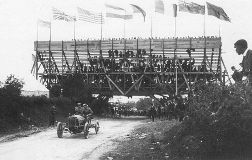 1903 gordon bennett trophy, athy, northern ireland - louis mooers (peerless 17-litre) dnf 1 tires 2