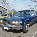 Cadillac seville 4door sedan 1976