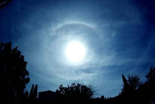 halo solaire