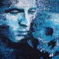 Eric Citerne, Hamlet : acrylique sur toile, 97 x 195 cm, 2010. (