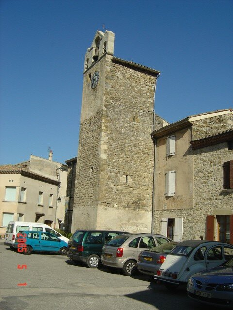 Le village et son horloge