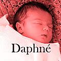 2.Daphné - Naissance