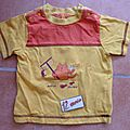 T- shirt -- 1 an