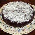 Moelleux chocolat - noix de coco