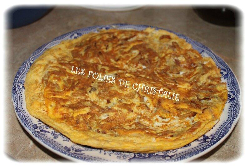 Omelette frites 4