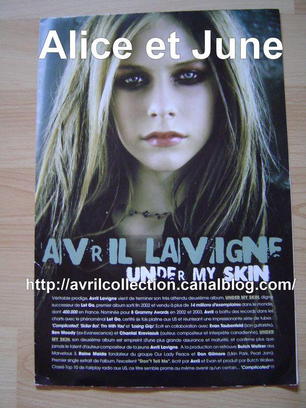 Dossier publicitaire français Under My Skin