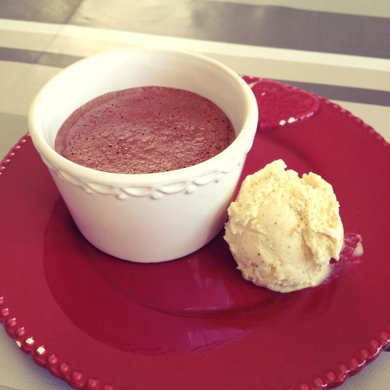 Coulant Nutella & glace vanille