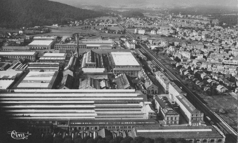 CPSM Belfort Alsthom 1950-52