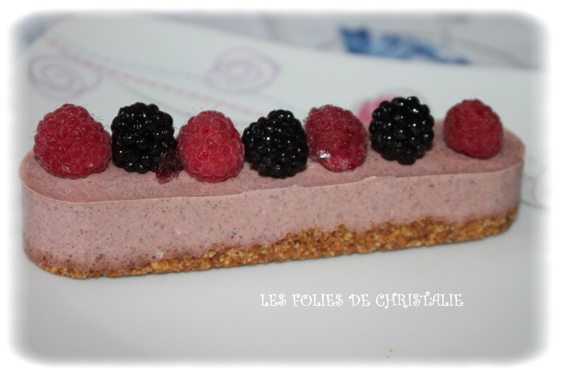 Cheesecake fruits rouges 8