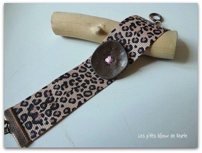 Bracelet leopard 3