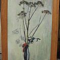 Mécénat artistique des amis du musée de valenciennes : nature morte au bouquet de fleurs