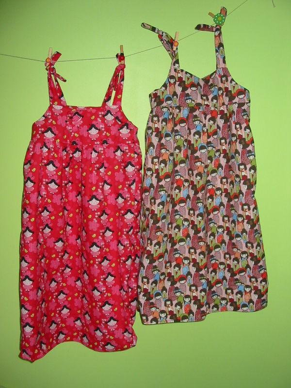 robes Lilou et Eloïse