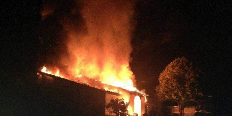 Gironde La production de vin du château Le meynot détruite par les flammes