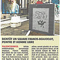 Square francis-beaudelot