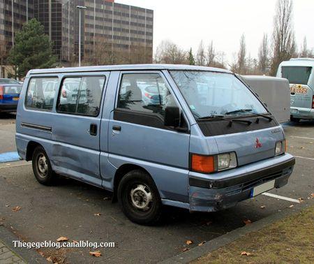 Mitsubishi L300 van (Strasbourg) 01