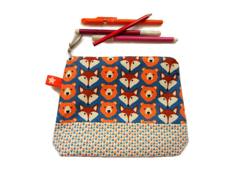 Trousse renards ours triangles face (2)