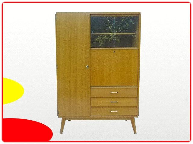 Armoire Penderie Secrétaire à Glace Vintage 1970 V Meubles Déco