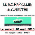 Sortie à paris pour version scrap