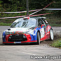2013 : Rallye Vosgien