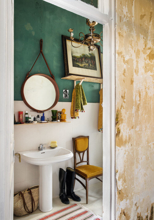 A vintage eclectic apartment in Spain photos by Germán Saiz