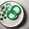 Important pair of jadeite bangles