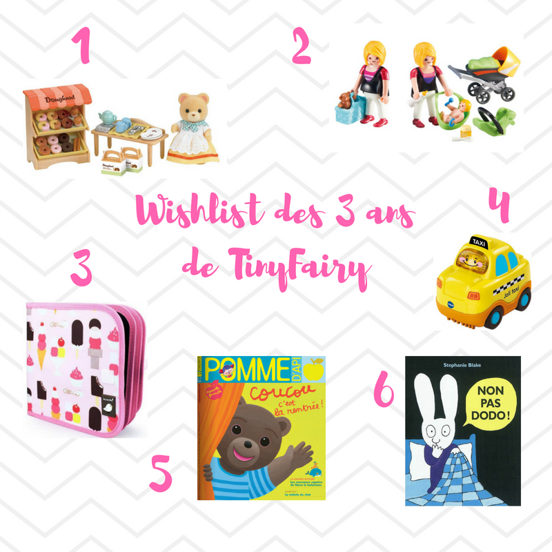 Wishlist de TinyFairy ©Kid Friendly