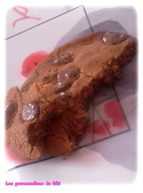 Cookies au beurre de cacahuètes & pépites de chocolat