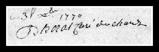 signature curé d'Hérat