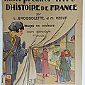 Livre de cours ... mon 1er livre d'histoire de france (1953) * delagrave