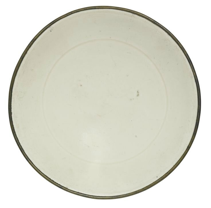 A 'Ding' 'Lotus' Dish, Song Dynasty