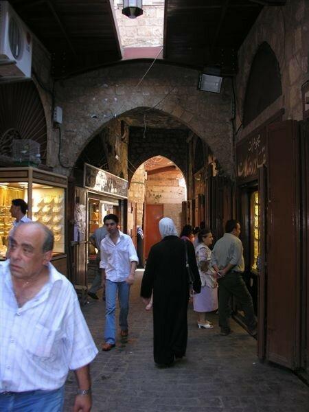 Tripoli- le souk-la rue des bijoutiers