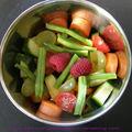 Les fruits et légumes du jour