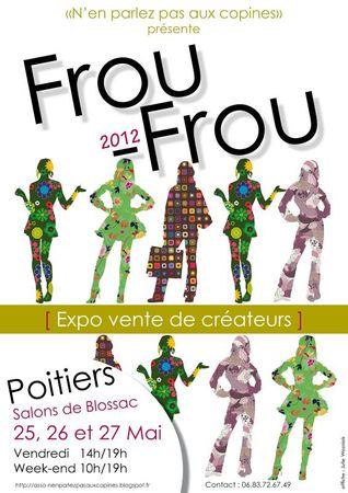 affiche froufrou 2012
