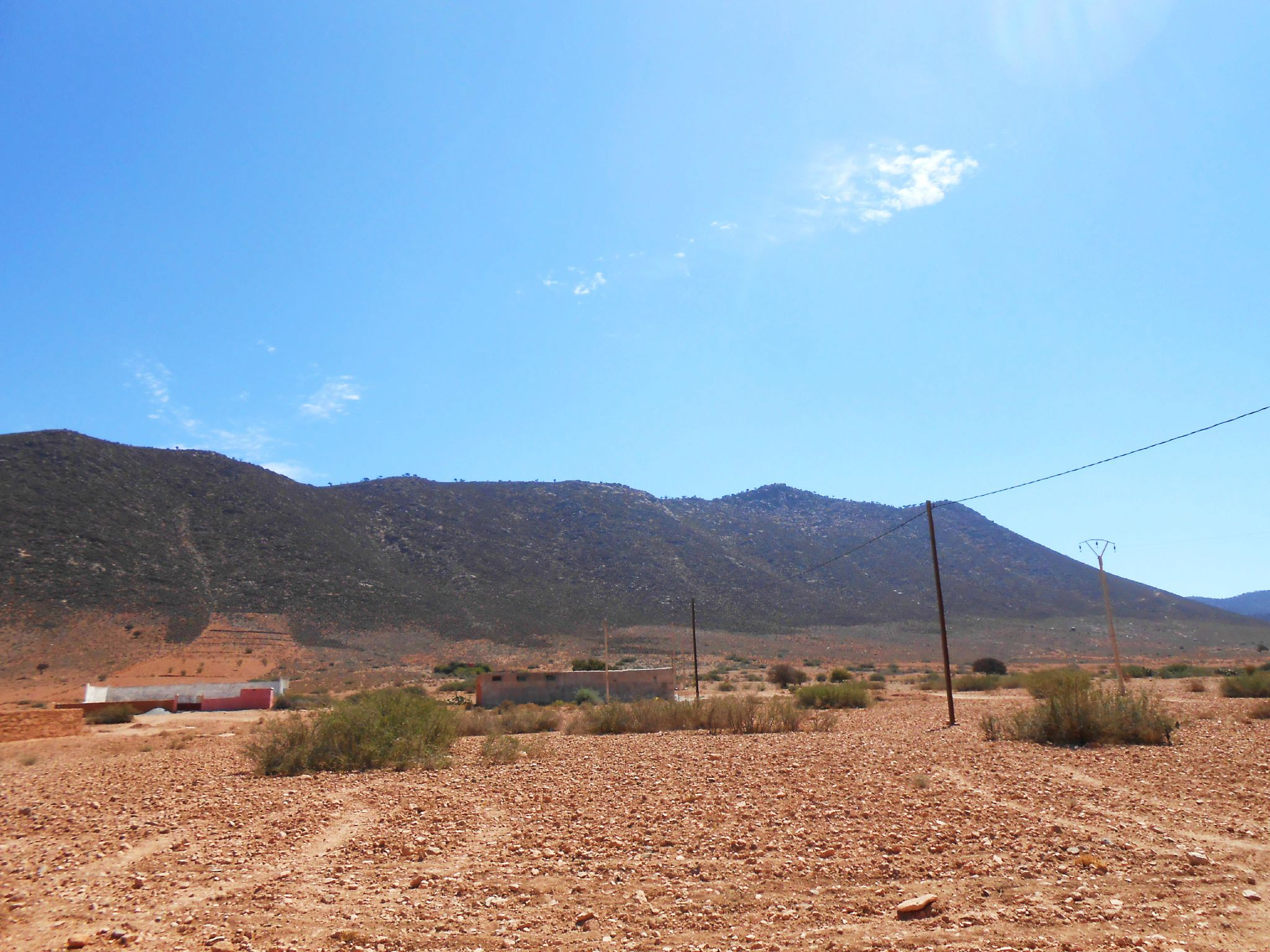Montagnes du village paternel , Bounaamane