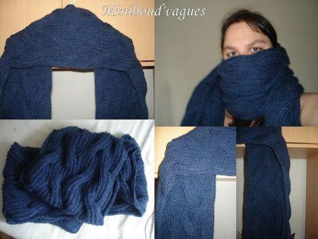 Waves scarf