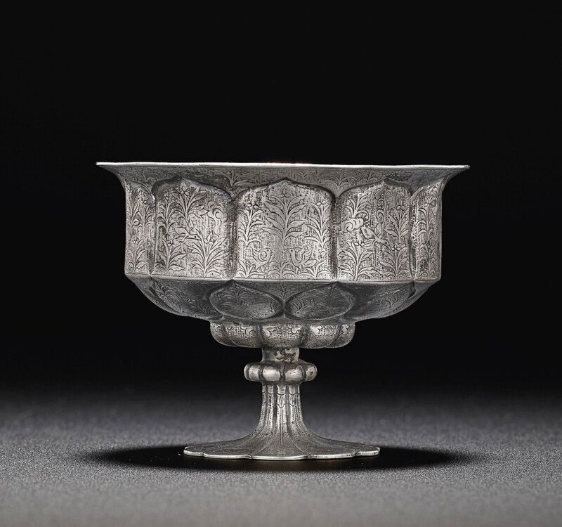 2019_NYR_18338_0558_002(a_rare_silver_petal-lobed_stem_cup_tang_dynasty)