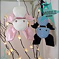 Mobile Déco Bat-Doudou Chauve-souris Vlady