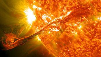 éjection masse coronale 37 K°