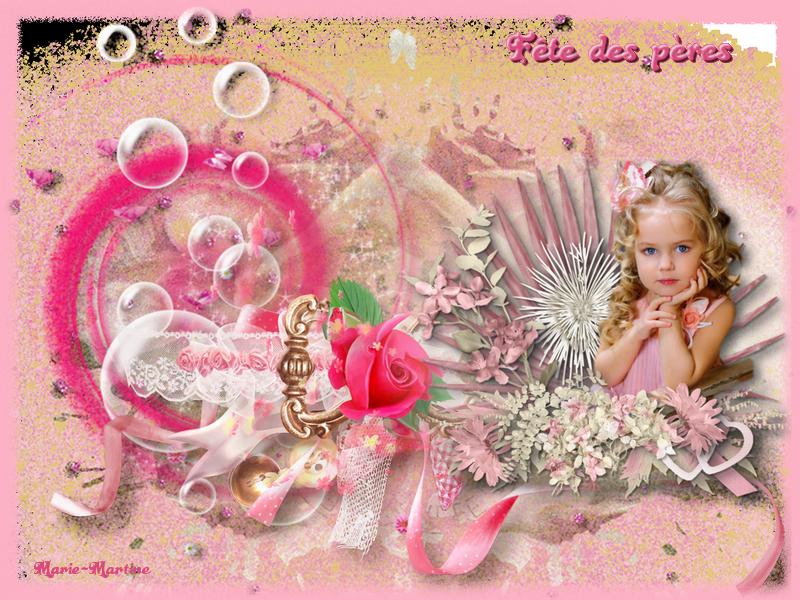 enfant ds fleurs