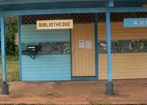 Cacao : la bibliothèque - associative -, au bord de la Comté