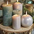 Les bougies de la prospérité et d'abondance