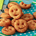 Pommes de terre frites sourires (potatoes smiley)
