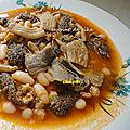 Chkemba -tripes en sauce piquante / kercha