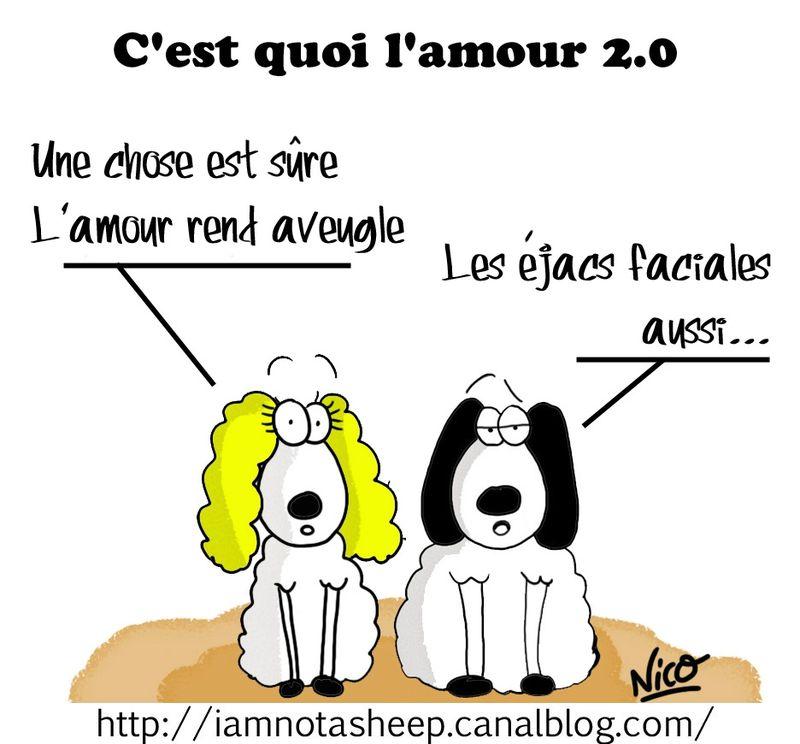 C 39 est quoi l 39 amour 2 0 i am not a sheep - Image mouton humoristique ...