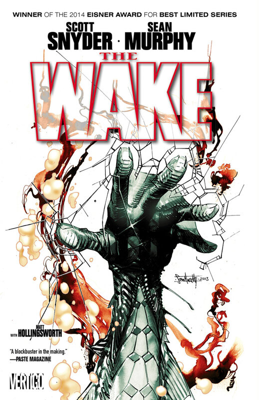vertigo the wake TPB