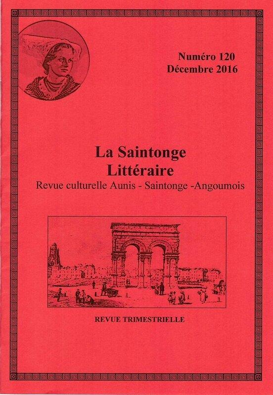 La Saintonge Littéraire
