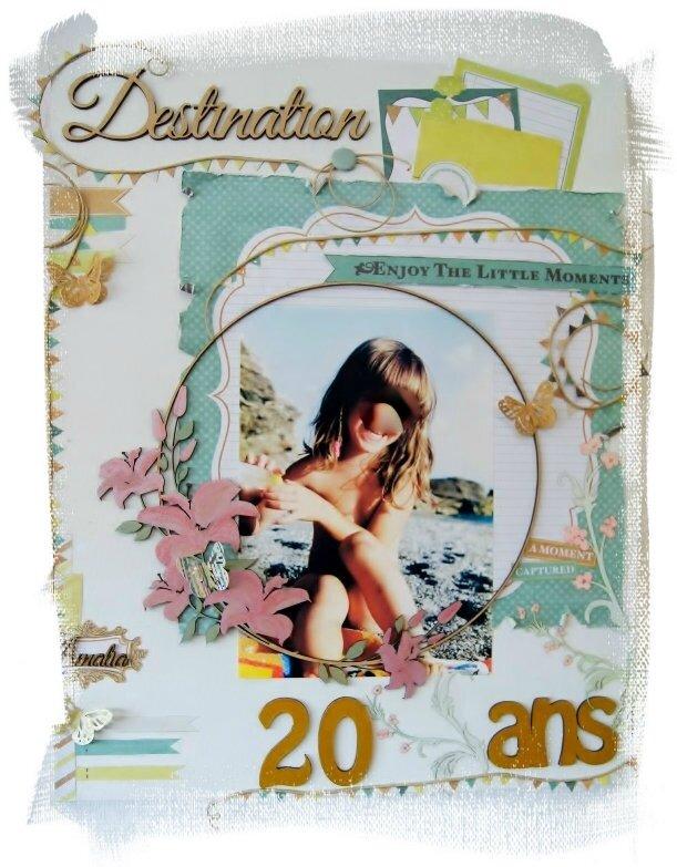 Création à la demande - Canvas pour anniversaire 20 ans -