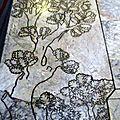 En toscane - 4 patchwork de marbres...